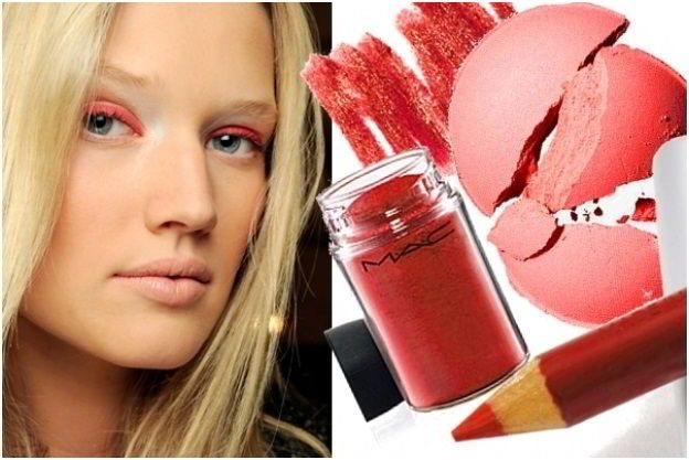 Красочный макияж глаз