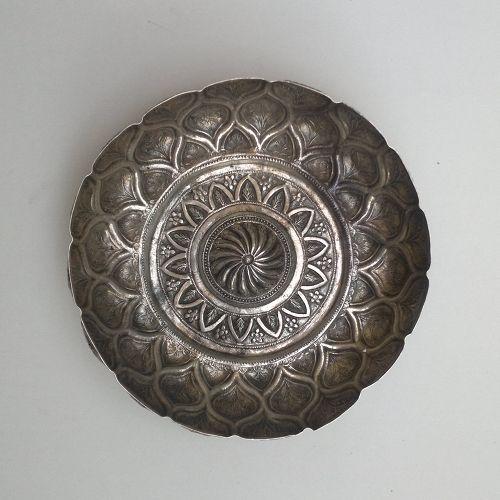 Ottoman silver hammam tass