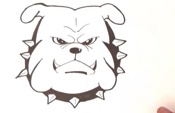 Aprende Como Dibujar Un Perro Bulldog Ingles Paso A Paso 8 Como Dibujar Un Perro Como Dibujar Perros