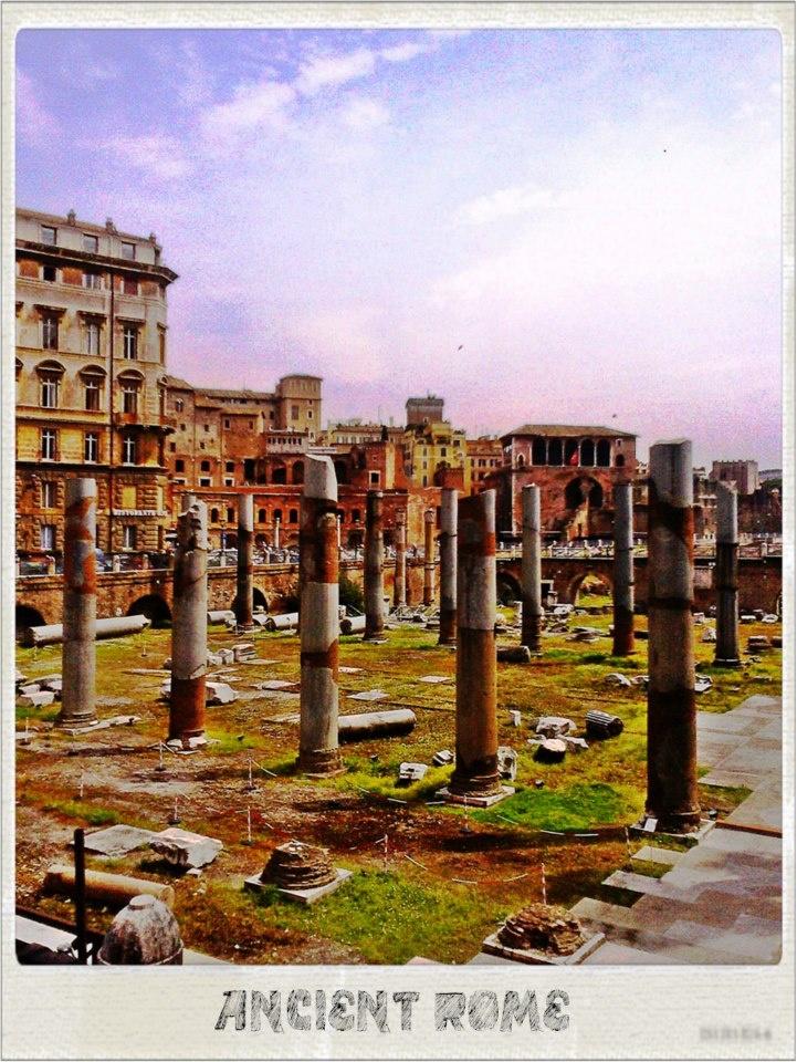 The ruins in Rome,Italy. .#By Devika Narain