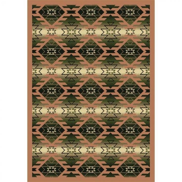 Joy Carpets Whimsy Canyon Ridge Cactus Southwestern Kids Rug - 1577-03