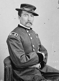 Maj. Gen. Phil Sheridan - Battle of Fisher's Hill, Shenandoah Valley, Virginia on Setember 22, 1864