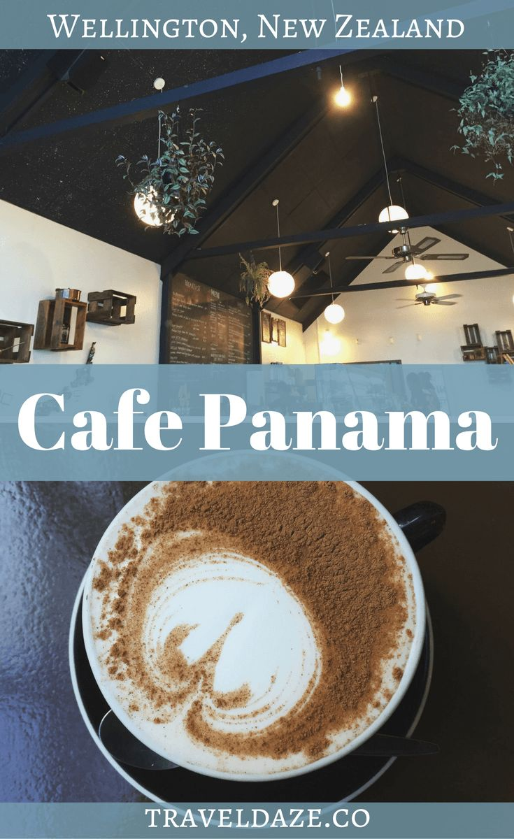 Cafe Panama is one of my favorite cafes in Wellington, New Zealand. It's so cute & the coffee & food is delicious!