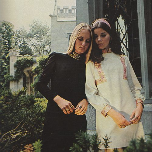 September 1968. 'Romeo & Juliet casts the spell of yesterday over the up-tempo fashions of today.'