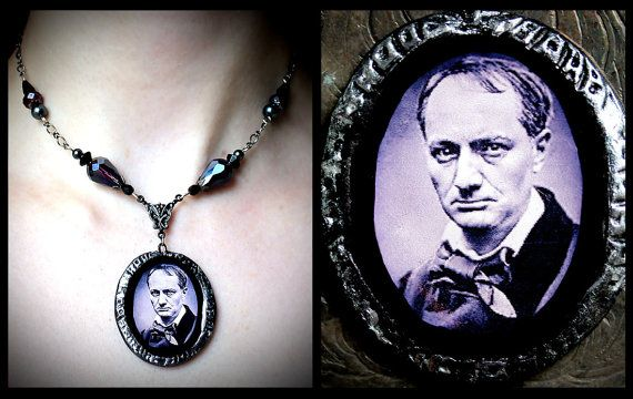 The Flowers of Evil Charles Baudelaire polymer by AuroraEventide