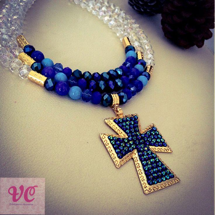 Cruz cristalitos