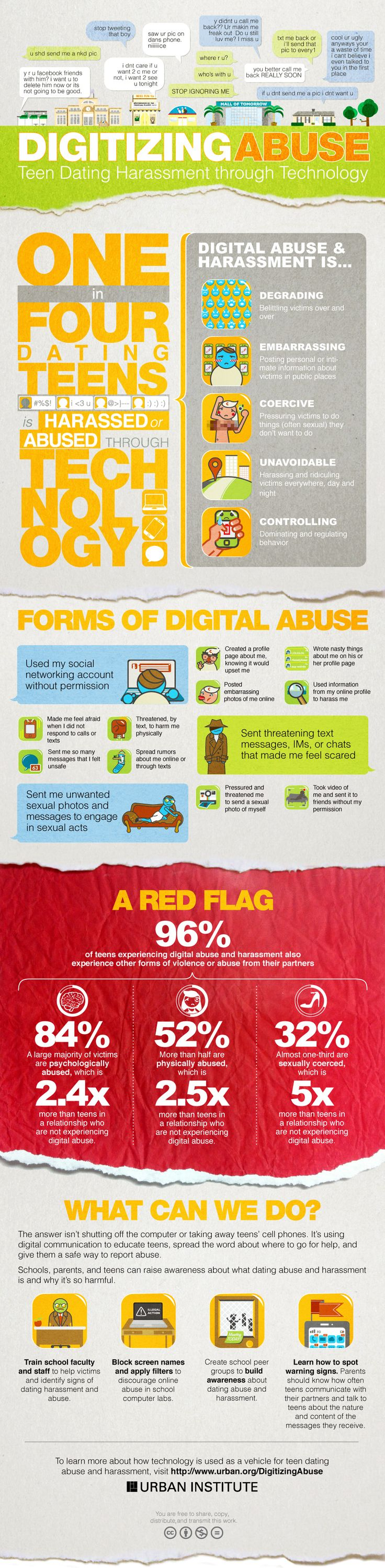 Digitizing Abuse Infographic