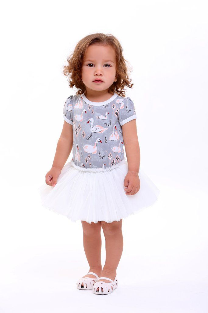 Rock Your Baby S16 Swans Baby Circus Dress (PRE ORDER) – My Messy Room