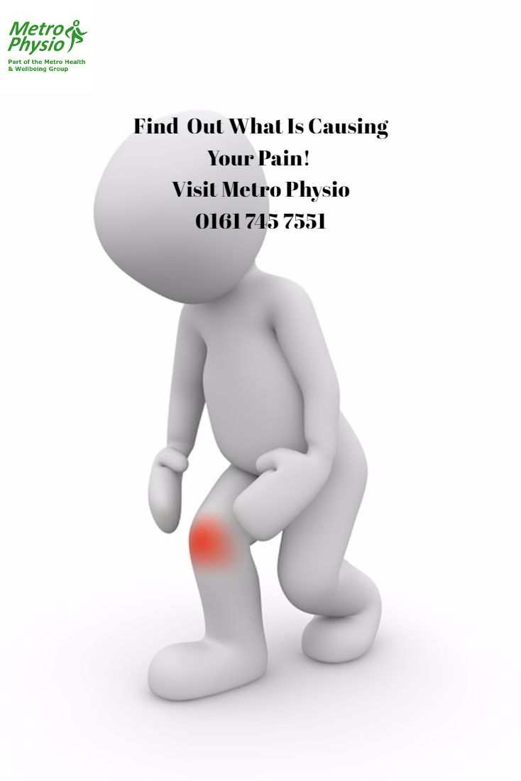 Find  Out What Is Causing Your Pain!  Visit Metro Physio 0161 745 7551