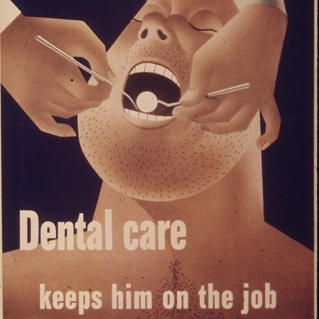 Vintage advertising for dental care! #vintage #advertising #dental #dentalcare #retro #dentistry #marketing #TBT #ThrowBackThursday #ThrowBack #like