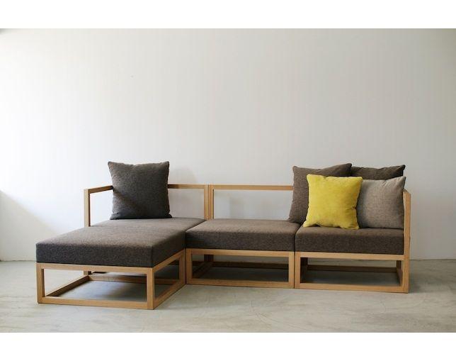 BUILDING Module Sofa / モジュールソファ Armless sofaの写真