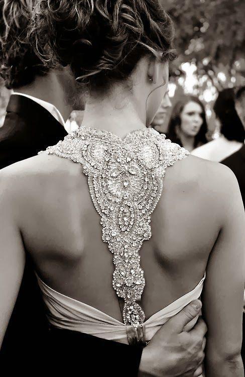 Wunderschöner Rücken! #Rückenausschnitt #Brautkleid