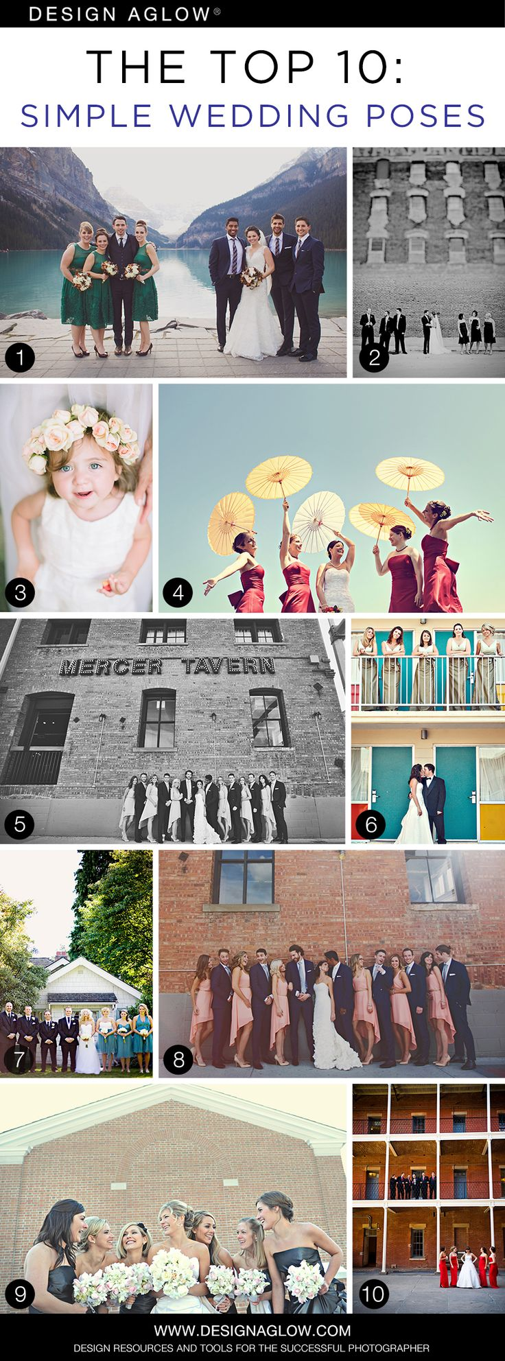 The Top 10: Simple Wedding Poses