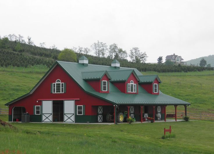 house that looks like red barn images | At Home in the High Country