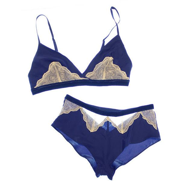 PRETTY LITTLE UNDERTHINGS: September 2011 ❤ liked on Polyvore featuring intimates, bras, lingerie, underwear and lingerie bra