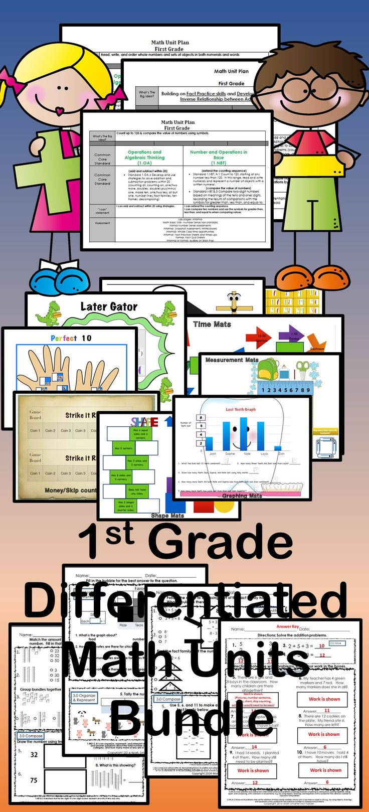first grade unit plan Browse first grade math lesson plans what is included in the time4learning lesson plan complete curriculum for first grade choose the appropriate unit and.
