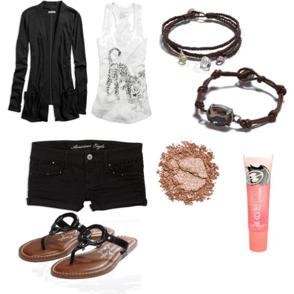 """""""Summer Airport Outfit"""" by sachana on Polyvore"""