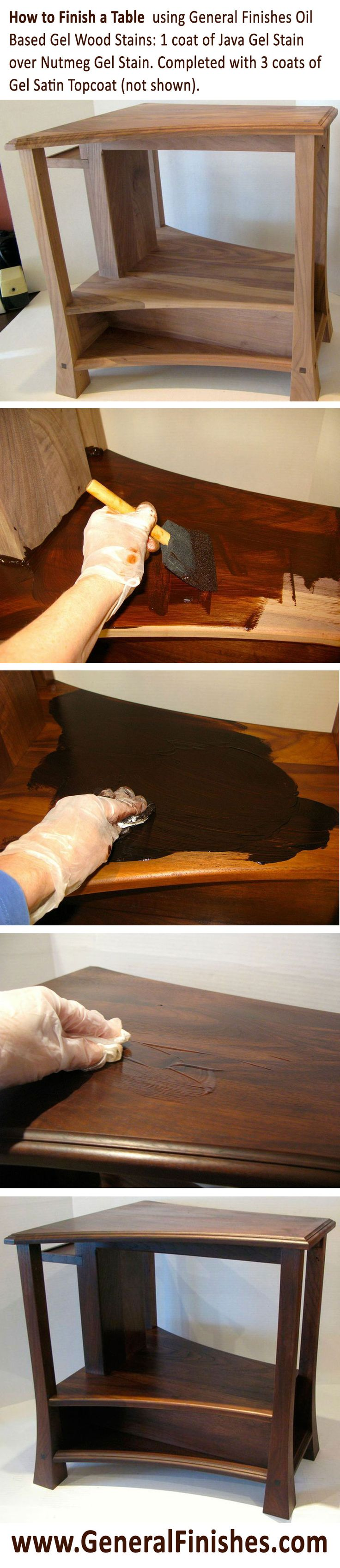 7 best general finishes from blah to wow images on pinterest 1 coat of java gel stain over nutmeg gel stain