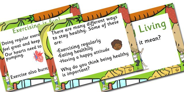 Twinkl Resources >> Healthy Eating and Living Powerpoint >> Printable resources for Primary, EYFS, KS1 and SEN.  Thousands of classroom displays and teaching aids! Topics, Health, Eating, Food, Powerpoints, Information