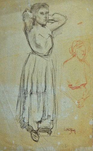 MÜTZNER SAMUEL ( 1884-1959 ) Femei / Women