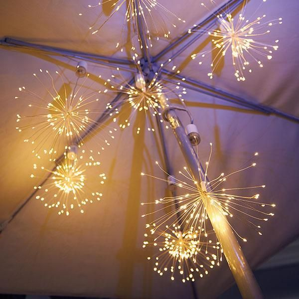 Led Copper Wire Firework Lights In 2020 Twinkle Lights Twinkle Twinkle Fireworks