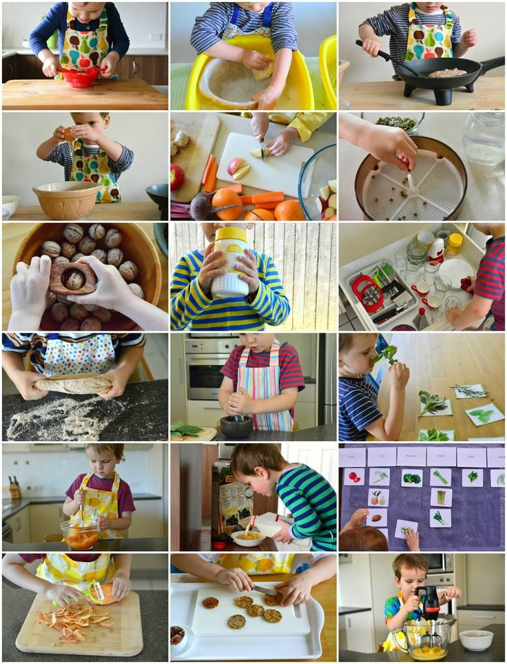 What a three-year-old can do in the kitchen! | how we montessori | Bloglovin'