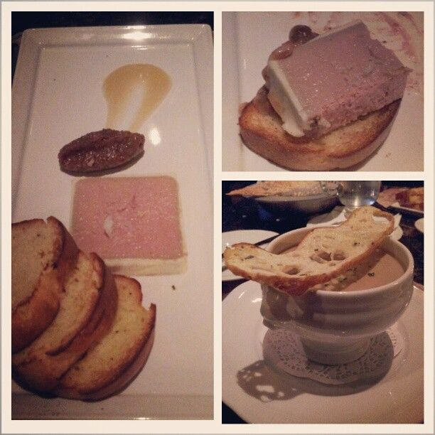 Amazing appetizer -#Chickenliver @wedgewoodhotel #Bacchuslounge