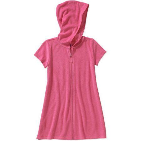 Op Girls' Swimwear Cover-Up, Size: 14/16, Pink