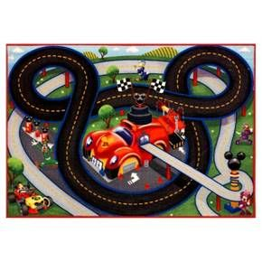 Mickey Mouse Green Amp Gray Game Rug 2 7 Quot X3 8 Quot Boys