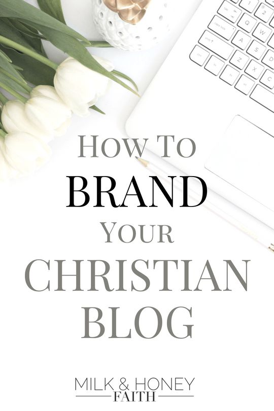 Learn how to create a brand for your Christian Blog by implementing these simple changes to your blog graphics.