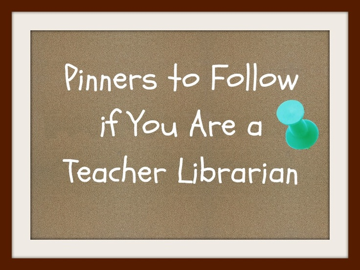 Ms. O Reads Books: Pinterest & Teacher Librarians (Pinterest Boards to Follow!)