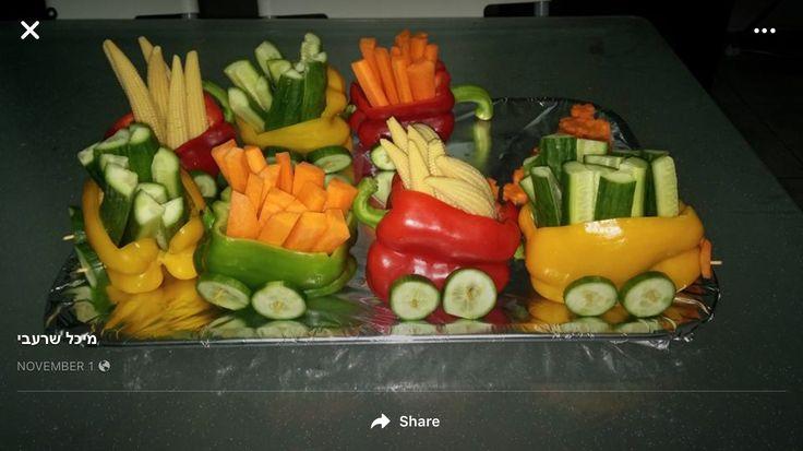 Sweet pepper vegetable train