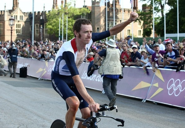 Bradley Wiggins Photo - Bradley Wiggins of Great Britain Wins Gold