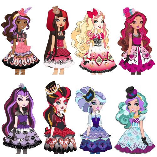 tea party ever after high