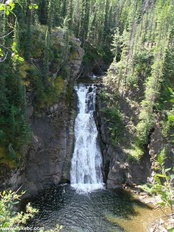 Barbour Falls Trail Hike (by Tumbler Ridge BC)