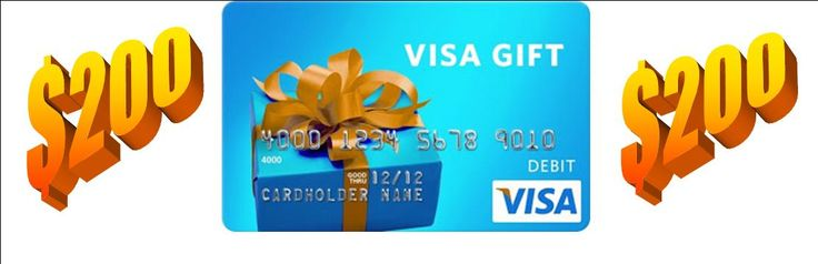 $200 Visa Gift Card!! #win #giveaway ends 6/28/13