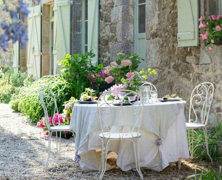 187 best images about french country on pinterest - Shabby chic giardino ...