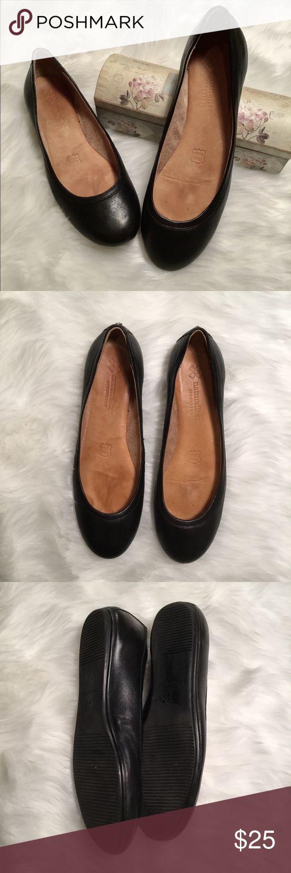 Black leather flat   Black leather flats, Black leather