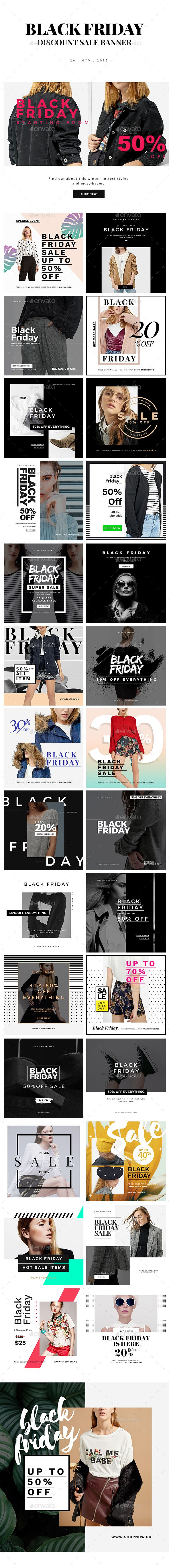 Black Friday Discount Sale Instagram Banner — Photoshop PSD #brand #templates • Available here ➝ https://graphicriver.net/item/black-friday-discount-sale-instagram-banner/20898140?ref=pxcr