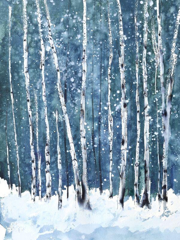 Tamara gonda Watercolor painting