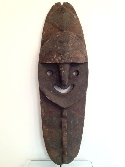 Zwaar Kwoma Mindja voorouderfiguur - OOST SEPIK - Papoea Nieuw Guinea