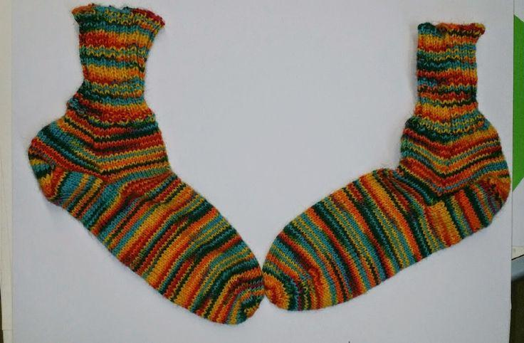 Sukkapuikot nutturassa: Väri-iloittelua