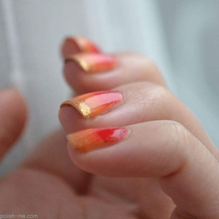Diy Autumn Gradient Nail Art: 265 Best Images About * Gradient/Ombre Nail Art Design