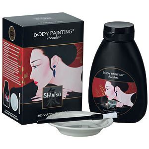 Shiatsu Body Painting - Pure full cream chocolate sauce, bowl and brush included....$23.95