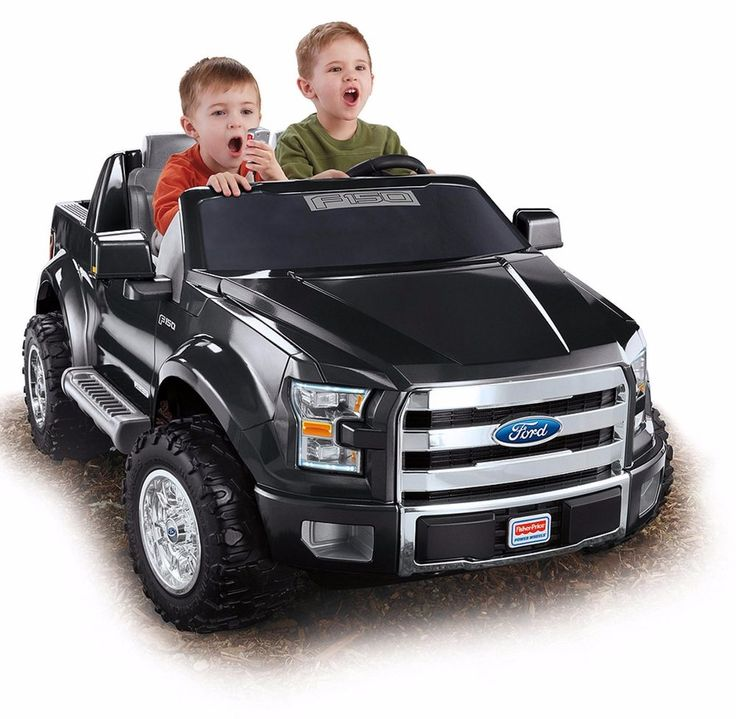 Fisher Power Wheels Ford F 150 12v Battery Powered Ride On