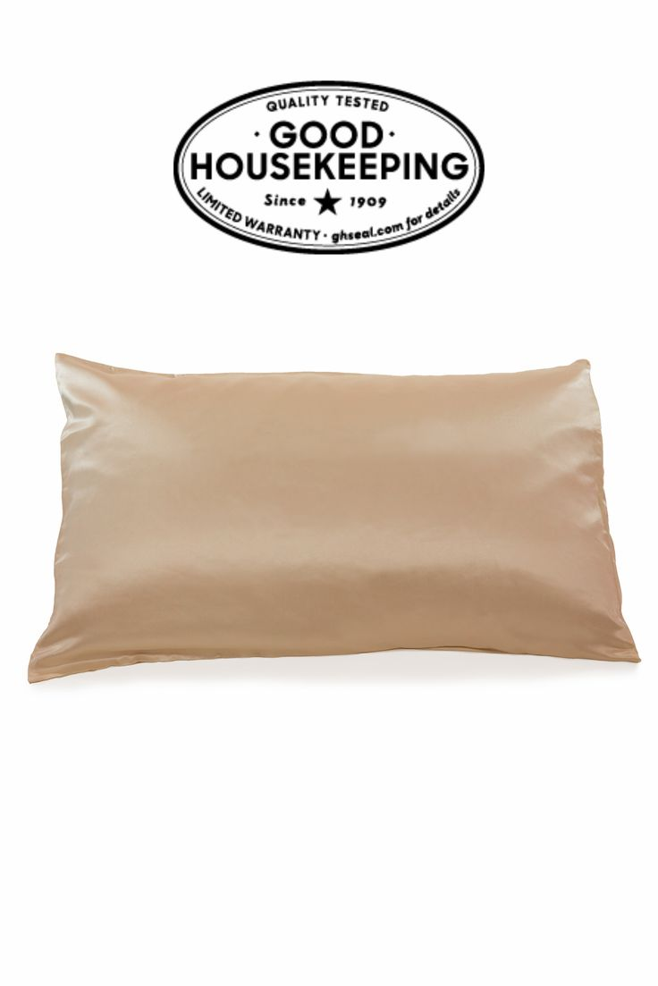 """Tranquil Dreams 100% Pure 25 Momme Mulberry Silk Pillowcase """"All-Star Standout"""" Good Housekeeping"""
