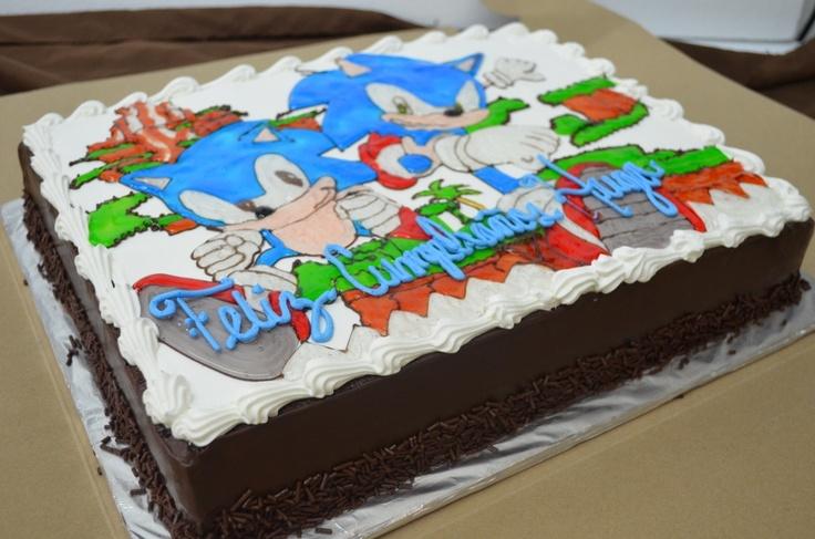 Pastel de Sonic