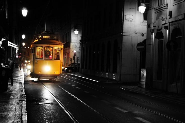 tram Lisabona Portugalia