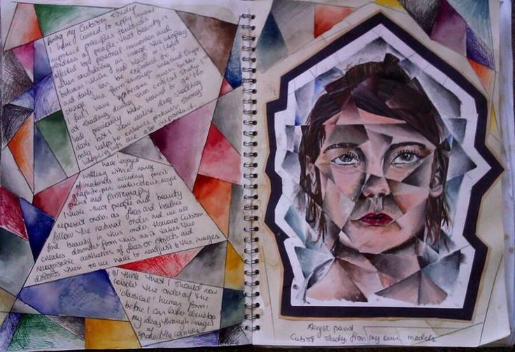 Cubism critical study for GCSE Art 'Order and Disorder'