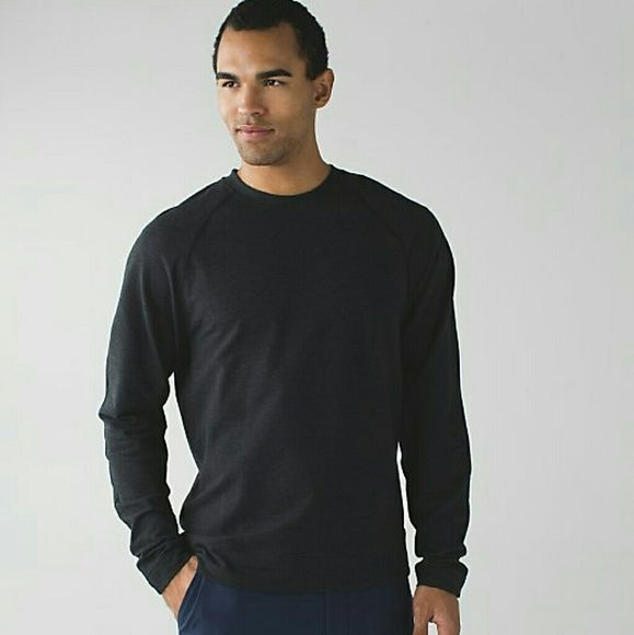 Lululemon Mens Pave Crew size M Lululemon Mens Pave Crew size M lululemon athletica Sweaters